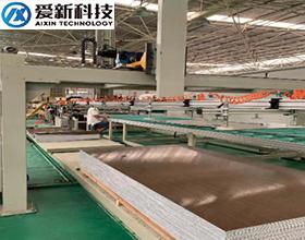 铝蜂窝板生产线